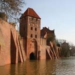 Die Roßfurth bei Hochwasser